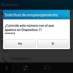Conecta con otro dispositivo Bluetooth - BlackBerry Q5 - Passo 8