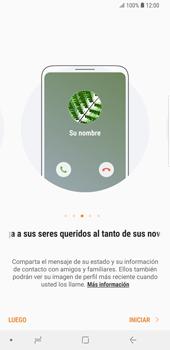 ¿Tu equipo puede copiar contactos a la SIM card? - Samsung Galaxy S9 Plus - Passo 4