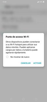 Configura el hotspot móvil - LG K40S - Passo 9
