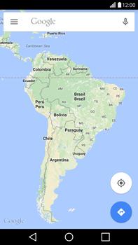 Uso de la navegación GPS - LG G4 - Passo 6
