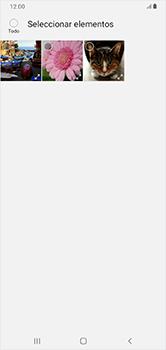 Transferir fotos vía Bluetooth - Samsung Galaxy A10 - Passo 9