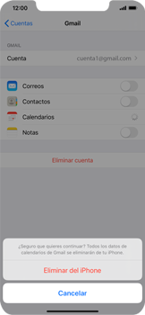 Desactivar la sincronización automática - Apple iPhone 11 - Passo 8