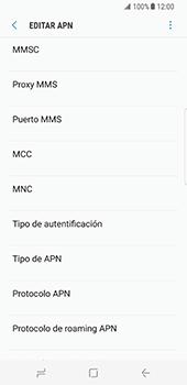 Configura el Internet - Samsung Galaxy S8 - Passo 12