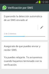Configuración de Whatsapp - Samsung Galaxy Fame GT - S6810 - Passo 7