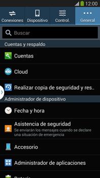 Restaura la configuración de fábrica - Samsung Galaxy Note Neo III - N7505 - Passo 5