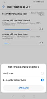 Desactivación límite de datos móviles - Huawei Y7 2019 - Passo 8