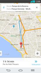 Uso de la navegación GPS - LG G2 - Passo 20