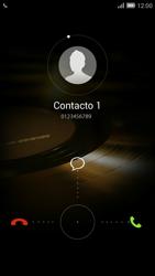 Contesta, rechaza o silencia una llamada - Huawei Ascend Mate 7 - Passo 3
