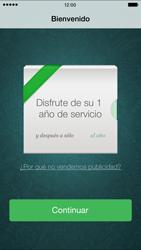 Configuración de Whatsapp - Apple iPhone 6 Plus - Passo 10
