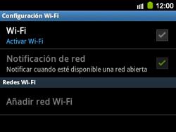Configura el WiFi - Samsung Galaxy Y Pro GT - B5510 - Passo 6