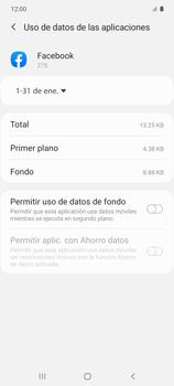 Verificar el uso de datos por apps - Samsung Galaxy S10 Lite - Passo 8