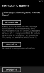 Activa el equipo - Nokia Lumia 1020 - Passo 5
