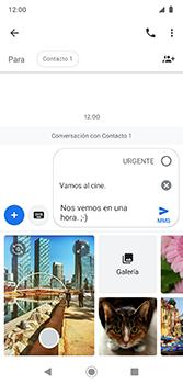 Envía fotos, videos y audio por mensaje de texto - Motorola Moto G7 Plus - Passo 11