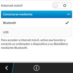 Comparte la conexión de datos con una PC - BlackBerry Q5 - Passo 10