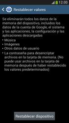 Restaura la configuración de fábrica - Samsung Galaxy S4 Mini - Passo 6