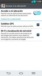 Uso de la navegación GPS - LG G2 - Passo 10