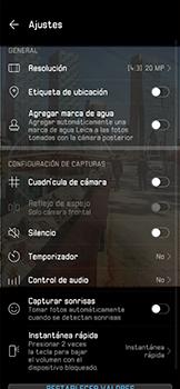 Opciones de la cámara - Huawei P30 Pro - Passo 7