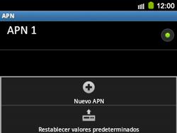 Configura el Internet - Samsung Galaxy Y Pro GT - B5510 - Passo 9