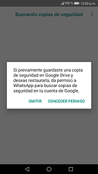 Configuración de Whatsapp - Huawei P9 Lite 2017 - Passo 12