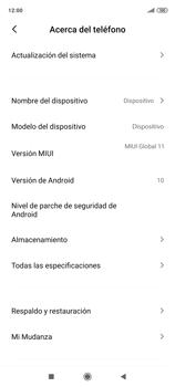 Realiza una copia de seguridad con tu cuenta - Xiaomi Redmi Note 9 Pro - Passo 5