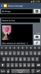 Envía fotos, videos y audio por mensaje de texto - Samsung Galaxy S4  GT - I9500 - Passo 19