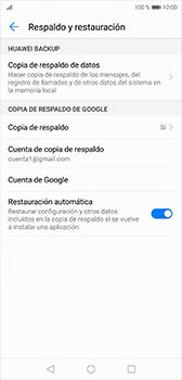 Realiza una copia de seguridad con tu cuenta - Huawei P20 - Passo 8