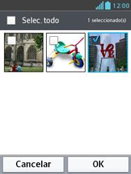Envía fotos, videos y audio por mensaje de texto - LG Optimus L3 II - Passo 15