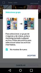 Transferir fotos vía Bluetooth - LG K10 - Passo 6
