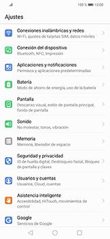 Activa o desactiva el uso del código de seguridad - Huawei Mate 20 Lite - Passo 2