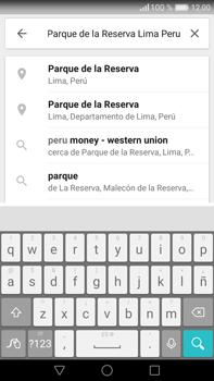 Uso de la navegación GPS - Huawei Mate 8 - Passo 8