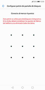 Desbloqueo del equipo por medio del patrón - Huawei Mate 10 Pro - Passo 7