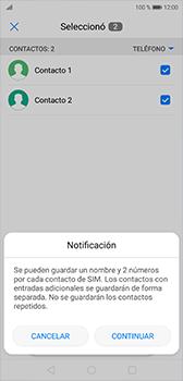 ¿Tu equipo puede copiar contactos a la SIM card? - Huawei P20 - Passo 8