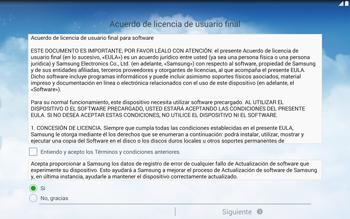 Activa el equipo - Samsung Galaxy Note Pro - Passo 5