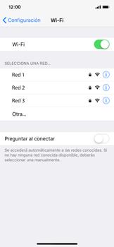 Configura el WiFi - Apple iPhone X - Passo 5