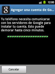 Crea una cuenta - Samsung Galaxy Y  GT - S5360 - Passo 18