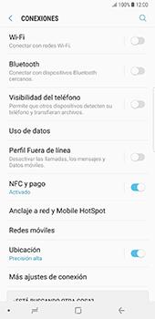 Configura el hotspot móvil - Samsung Galaxy Note 8 - Passo 5