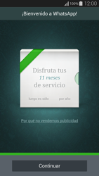 Configuración de Whatsapp - Samsung Galaxy Alpha - G850 - Passo 9