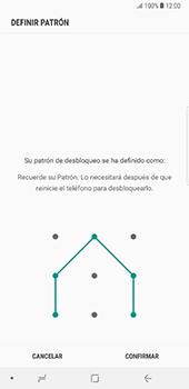 Desbloqueo del equipo por medio del patrón - Samsung Galaxy Note 8 - Passo 10