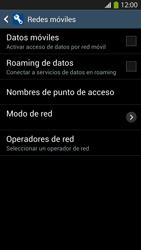 Desactiva tu conexión de datos - Samsung Galaxy S4  GT - I9500 - Passo 7