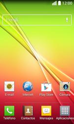Configura el Internet - LG L70 - Passo 1