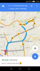 Uso de la navegación GPS - Huawei P8 - Passo 15