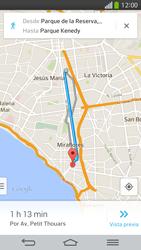Uso de la navegación GPS - LG G Flex - Passo 24