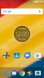Comparte la conexión de datos con una PC - Motorola Moto C - Passo 1