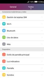 Desactiva tu conexión de datos - Huawei Y3 II - Passo 3