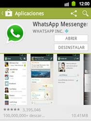 Instala las aplicaciones - Samsung Galaxy Y  GT - S5360 - Passo 18