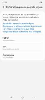 Cómo configurar el Face ID - Samsung Galaxy S10 Lite - Passo 7