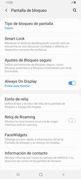 Desbloqueo del equipo por medio del patrón - Samsung Galaxy A80 - Passo 13
