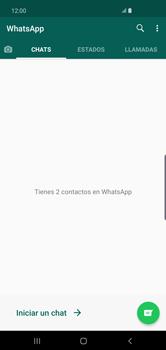 Usar WhatsApp - Samsung S10+ - Passo 3