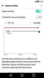 Desactiva tu conexión de datos - LG X Power - Passo 3