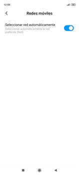 Cómo seleccionar una red en tu teléfono manualmente - Xiaomi Redmi Note 9 Pro - Passo 7
